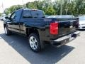 Chevrolet Silverado 1500 Custom Double Cab 4x4 Black photo #4
