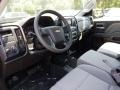 Chevrolet Silverado 1500 Custom Double Cab 4x4 Black photo #7