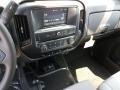Chevrolet Silverado 1500 Custom Double Cab 4x4 Black photo #10