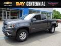 Chevrolet Colorado WT Extended Cab 4x4 Cyber Gray Metallic photo #1