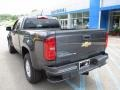 Chevrolet Colorado WT Extended Cab 4x4 Cyber Gray Metallic photo #4
