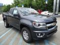Chevrolet Colorado WT Extended Cab 4x4 Cyber Gray Metallic photo #9