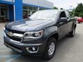 Chevrolet Colorado WT Extended Cab 4x4 Cyber Gray Metallic photo #11