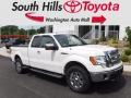 Ford F150 Lariat SuperCab 4x4 Oxford White photo #1
