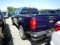 Chevrolet Colorado LT Crew Cab 4x4 Laser Blue Metallic photo #6