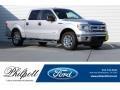 Ford F150 XLT SuperCrew Ingot Silver photo #1