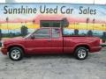 Chevrolet S10 LS Extended Cab Dark Cherry Red Metallic photo #2