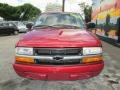 Chevrolet S10 LS Extended Cab Dark Cherry Red Metallic photo #3