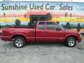 Chevrolet S10 LS Extended Cab Dark Cherry Red Metallic photo #4