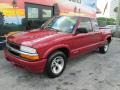 Chevrolet S10 LS Extended Cab Dark Cherry Red Metallic photo #5