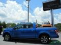 Ford F150 XLT SuperCrew 4x4 Blue Flame Metallic photo #2