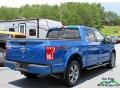 Ford F150 XLT SuperCrew 4x4 Blue Flame Metallic photo #5