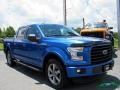 Ford F150 XLT SuperCrew 4x4 Blue Flame Metallic photo #7