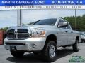 Dodge Ram 2500 Laramie Quad Cab 4x4 Bright Silver Metallic photo #1