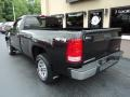 GMC Sierra 1500 Work Truck Regular Cab 4x4 Carbon Black Metallic photo #3