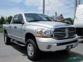 Dodge Ram 2500 Laramie Quad Cab 4x4 Bright Silver Metallic photo #8