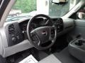 GMC Sierra 1500 Work Truck Regular Cab 4x4 Carbon Black Metallic photo #6