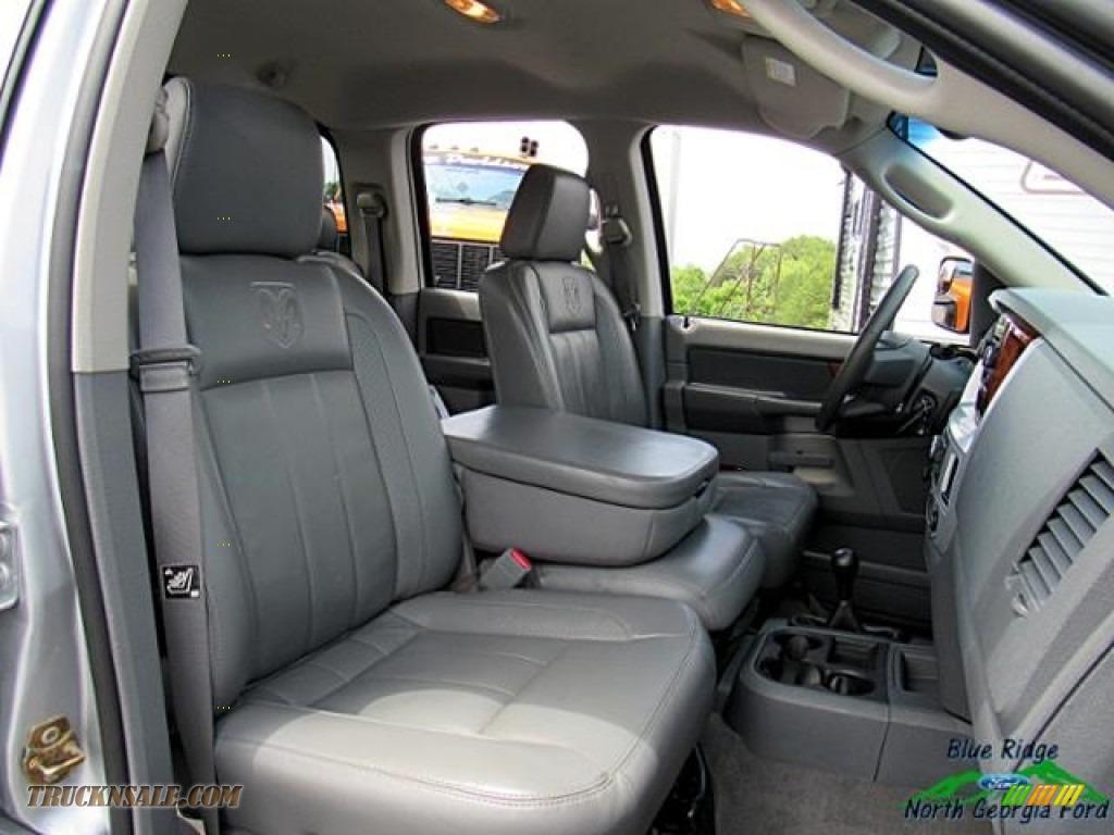 2006 Ram 2500 Laramie Quad Cab 4x4 - Bright Silver Metallic / Medium Slate Gray photo #15