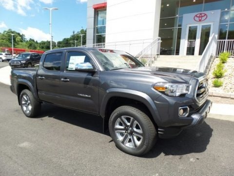 Magnetic Gray Metallic 2017 Toyota Tacoma Limited Double Cab 4x4