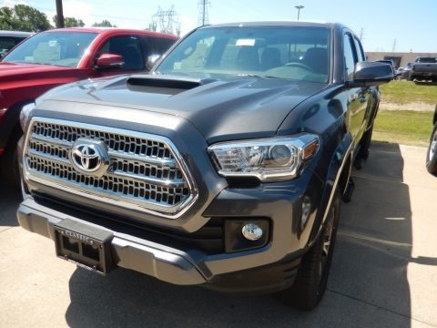 Magnetic Gray Metallic 2017 Toyota Tacoma TRD Sport Double Cab 4x4