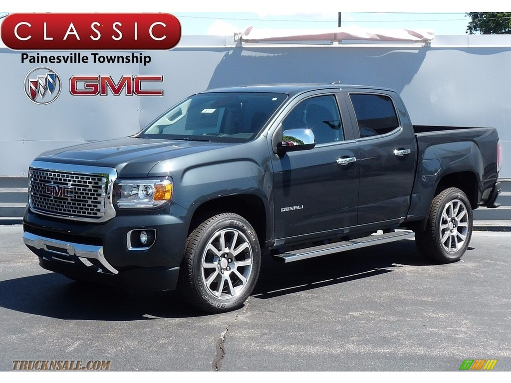 2017 Gmc Canyon Denali Crew Cab 4x4 In Dark Slate Metallic