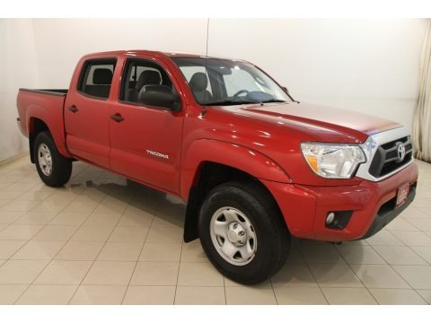 Barcelona Red Metallic 2015 Toyota Tacoma V6 PreRunner Double Cab