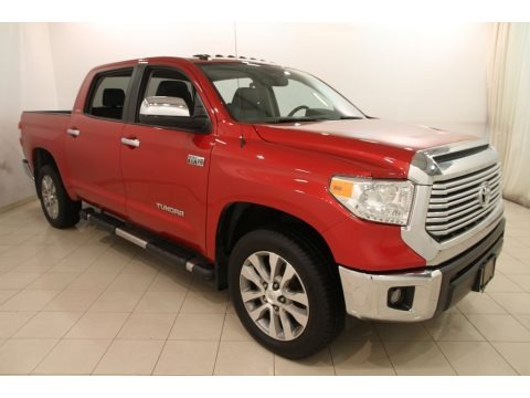 Barcelona Red Metallic 2015 Toyota Tundra Limited CrewMax 4x4