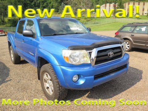 Speedway Blue Pearl 2007 Toyota Tacoma V6 TRD Double Cab 4x4