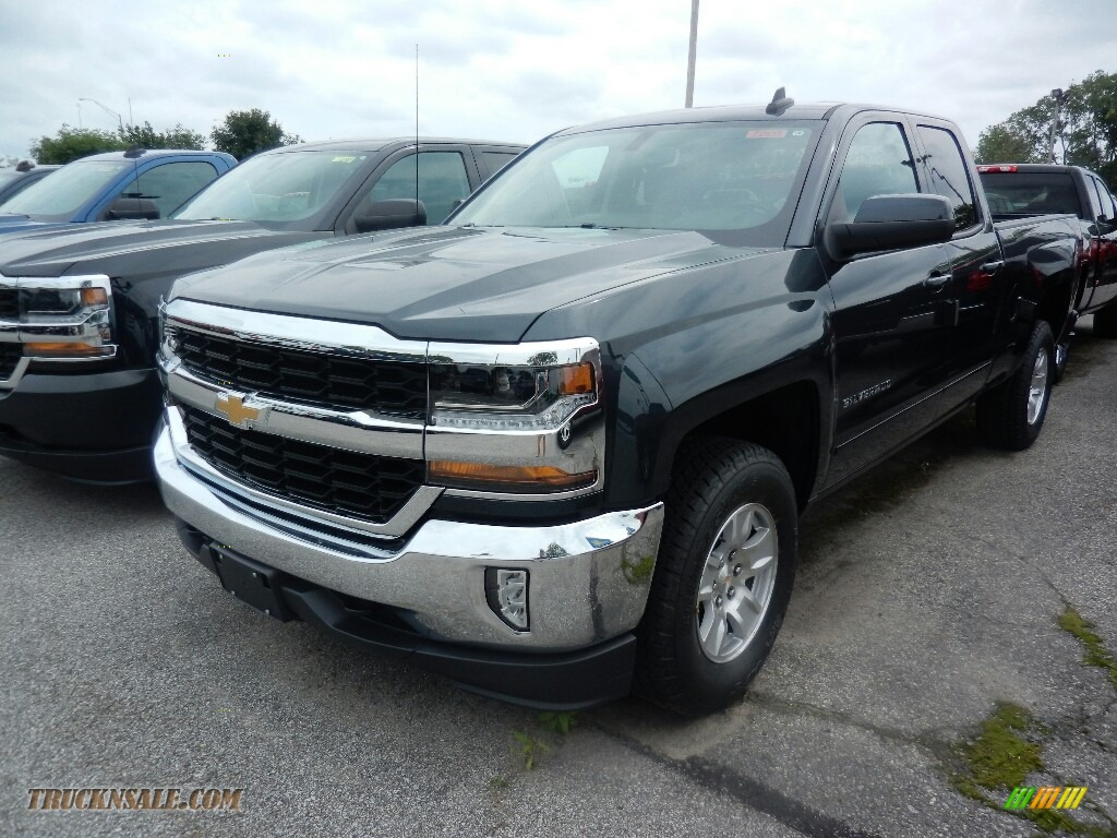 Mike Anderson Chevy >> 2018 Chevrolet Silverado 1500 LT Double Cab 4x4 in Graphite Metallic - 112011 | Truck N' Sale