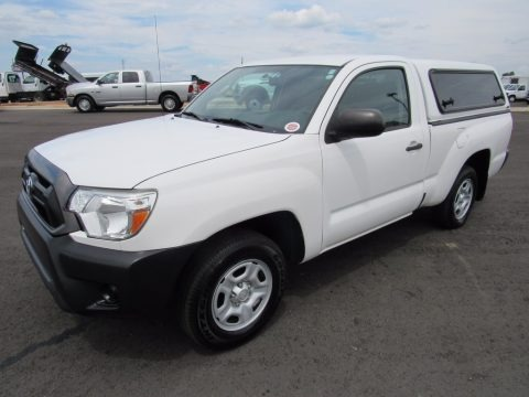 Super White 2013 Toyota Tacoma Regular Cab