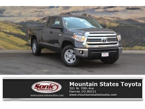 Magnetic Gray Metallic 2017 Toyota Tundra SR5 Double Cab 4x4