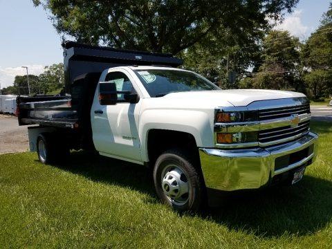 Summit White 2017 Chevrolet Silverado 3500HD Work Truck Regular Cab 4x4