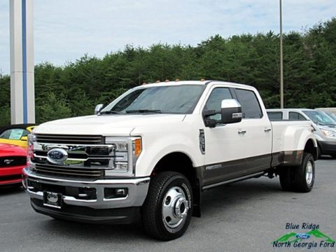 White Platinum 2017 Ford F350 Super Duty King Ranch Crew Cab 4x4