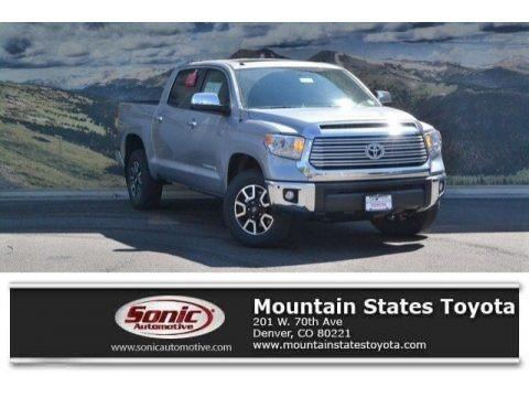 Silver Sky Metallic 2017 Toyota Tundra Limited CrewMax 4x4