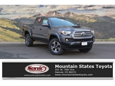 Magnetic Gray Metallic 2017 Toyota Tacoma TRD Sport Double Cab 4x4