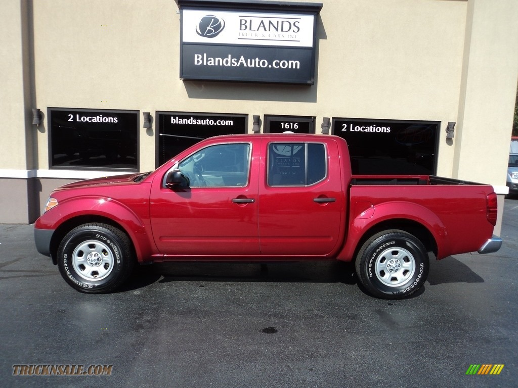 2012 Frontier S Crew Cab - Red Brick / Steel photo #1