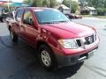 Nissan Frontier S Crew Cab Red Brick photo #5
