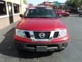 Nissan Frontier S Crew Cab Red Brick photo #18