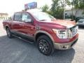 Nissan Titan Platinum Reserve Crew Cab 4x4 Cayenne Red photo #1