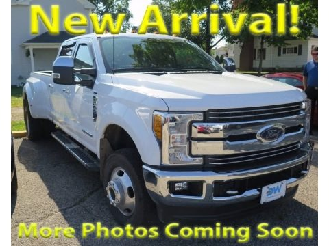 Oxford White 2017 Ford F350 Super Duty Lariat Crew Cab 4x4