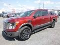Nissan Titan Platinum Reserve Crew Cab 4x4 Cayenne Red photo #11