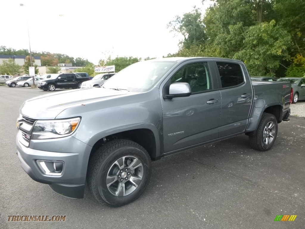 2018 Chevrolet Colorado Z71 Crew Cab 4x4 In Satin Steel