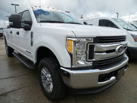 Oxford White 2017 Ford F350 Super Duty XLT Crew Cab 4x4