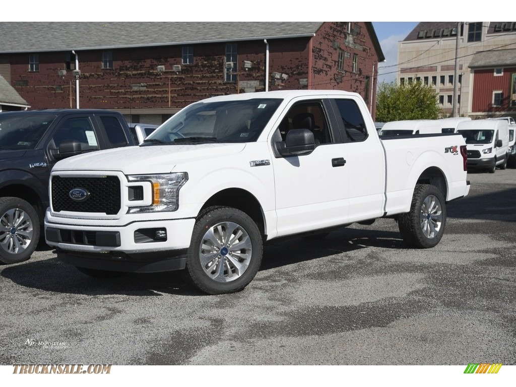 2018 ford f150 stx supercab 4x4 in oxford white a43019 truck n 39 sale. Black Bedroom Furniture Sets. Home Design Ideas