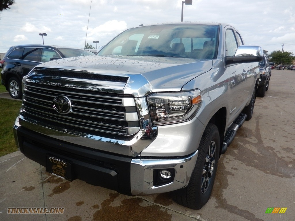 2018 Toyota Tundra Double Cab >> 2018 Toyota Tundra Limited Double Cab 4x4 in Silver Sky Metallic - 680956 | Truck N' Sale