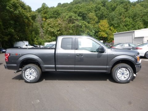 Magnetic 2018 Ford F150 XLT SuperCab 4x4