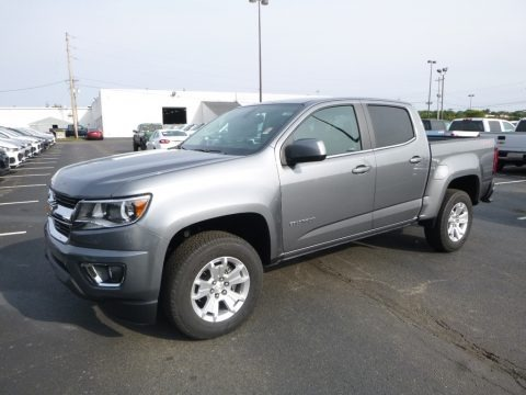 Satin Steel Metallic 2018 Chevrolet Colorado LT Crew Cab 4x4
