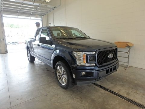 Blue Jeans 2018 Ford F150 XL SuperCab 4x4