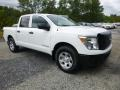 Nissan Titan S Crew Cab 4x4 Glacier White photo #1
