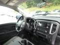 Nissan Titan S Crew Cab 4x4 Glacier White photo #12